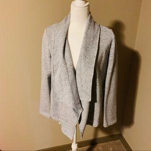 Saturday Sunday Double Snap Cotton Jersey Blazer